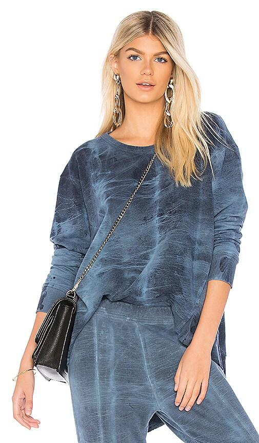 Wilt Big Backslant Sweatshirt in Slate