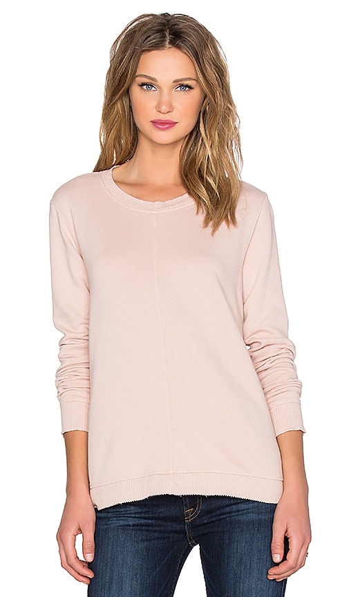 Wilt French Terry Trapeze Sweatshirt in Putty