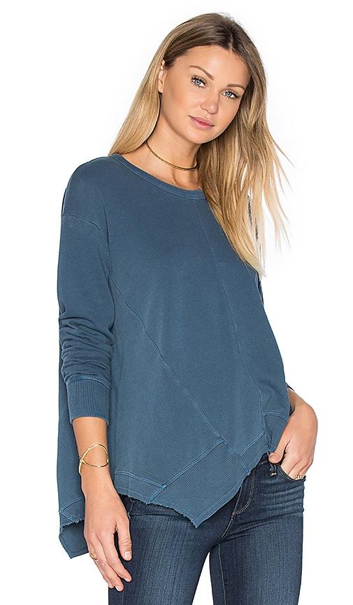 Wilt Paneled Sweatshirt in Blue