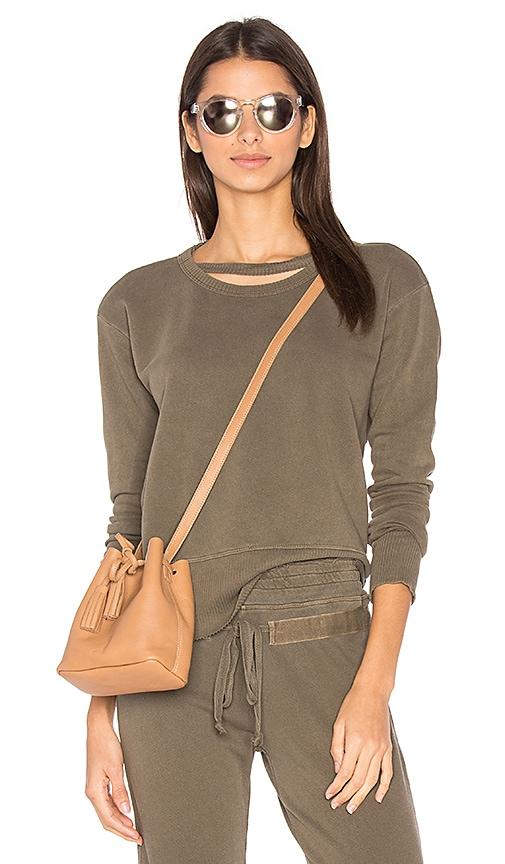 Wilt Slouchy Sweatshirt in Brown