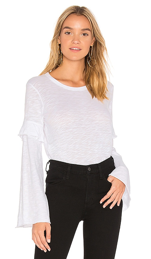 Wilt Easy Layered Sweatshirt in Ivory