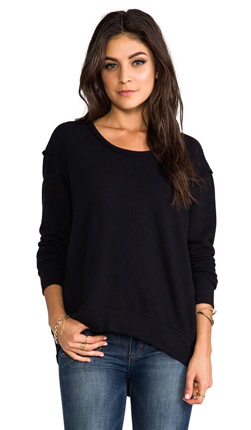 Raw Big Backslant Sweatshirt