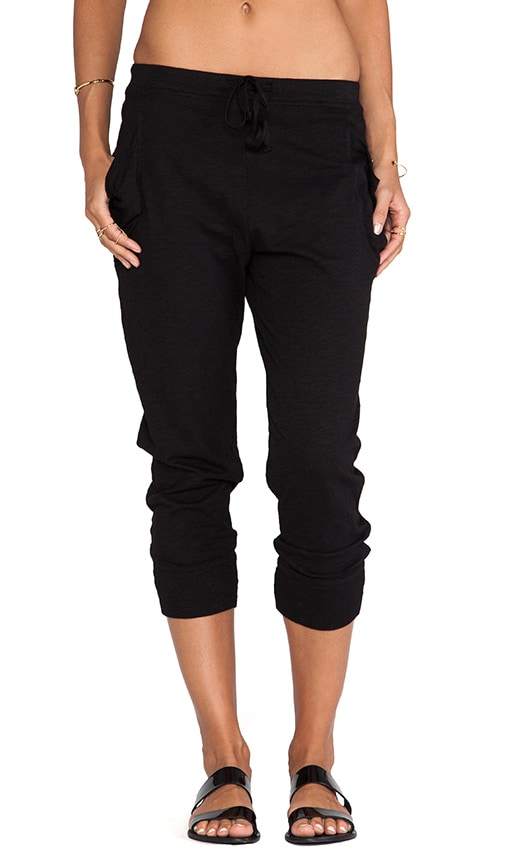 Slub Crop Pocket Pant