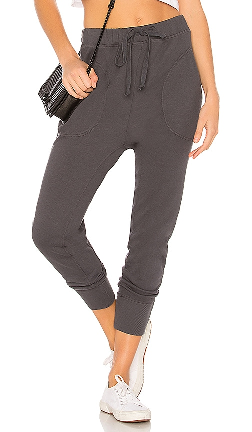 Wilt Cropped Sweatpant in Gray
