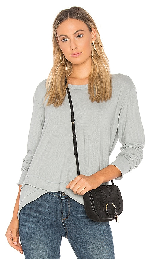 Wilt Easy Slouchy Top in Baby Blue