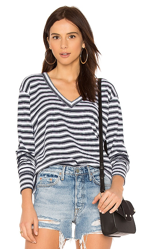 Wilt Big Slouchy Long Sleeve Tee in White