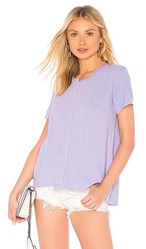Wilt Shifted Crew Neck Tee in Lavender