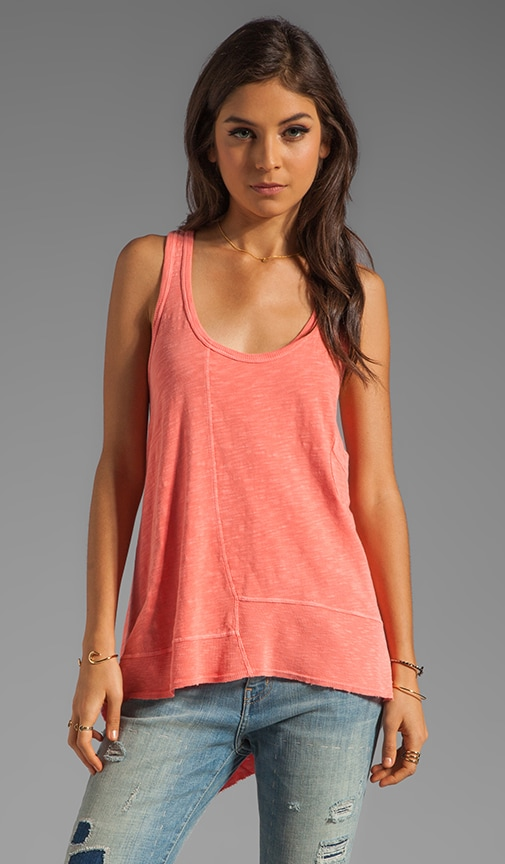 Slub Pocket Boyfriend Tank