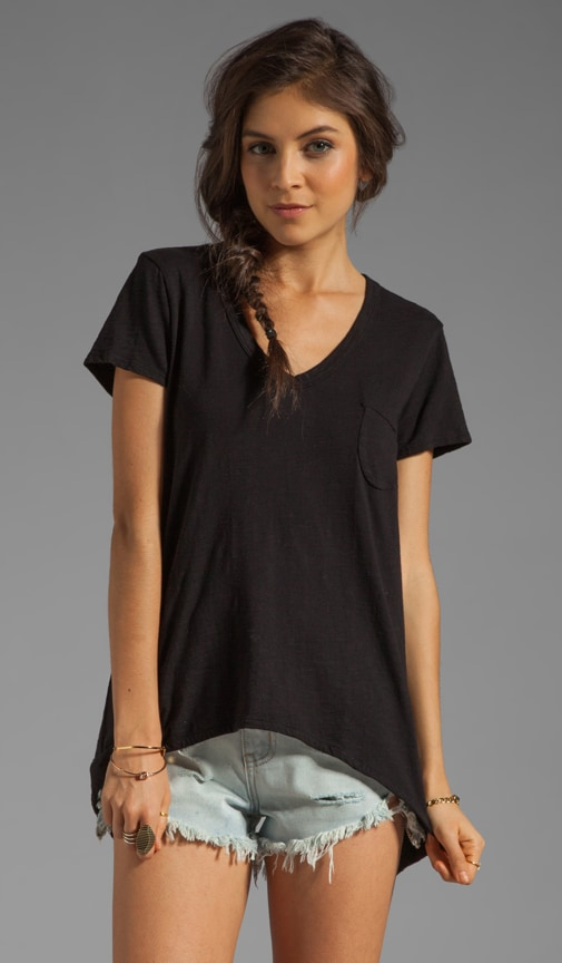 Slub Shrunken Pocket Tee