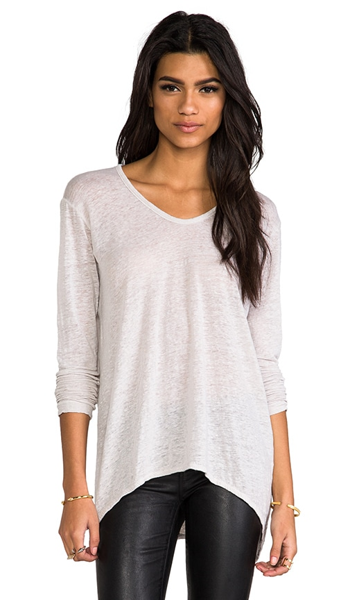 Lux Slub Shrunken BF Long Sleeve