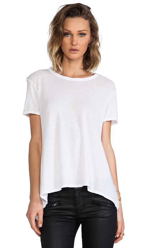 Wilt Shrunken Crew Boyfriend Tee in White