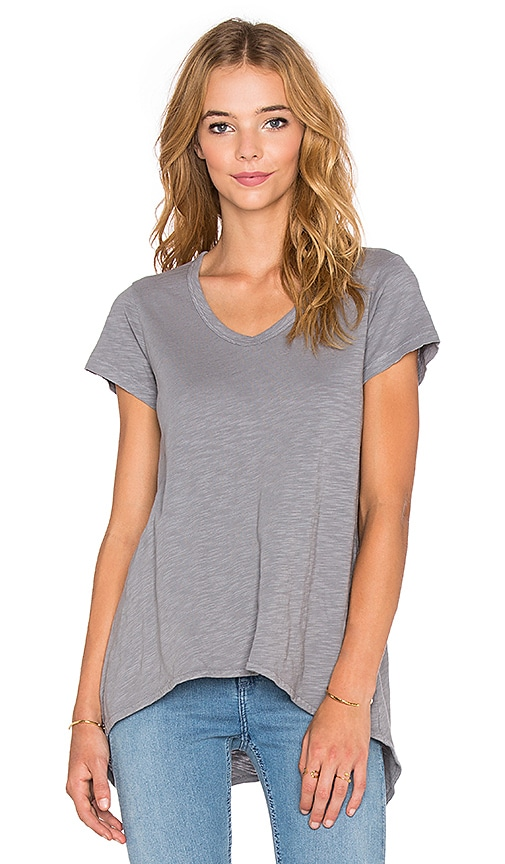 Wilt Shrunken Boyfriend Tee in Steel