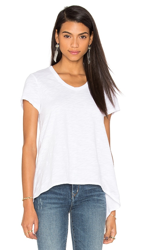 Wilt Slub Shrunken Boyfriend Tee in White