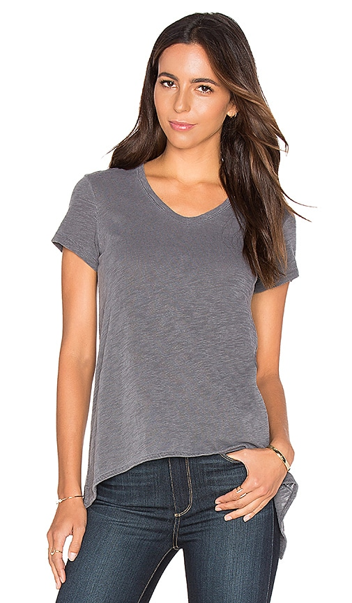 Wilt Shrunken Boyfriend Tee in Gray