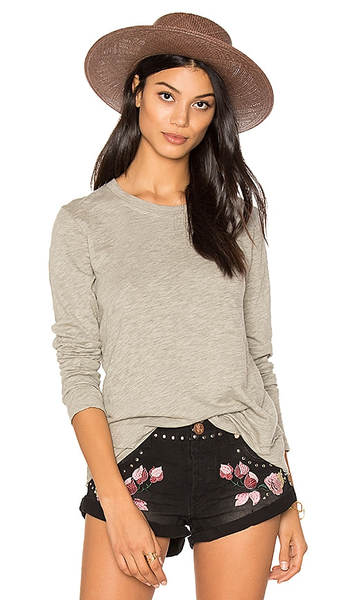 Wilt Mock Layered Tee in Gray