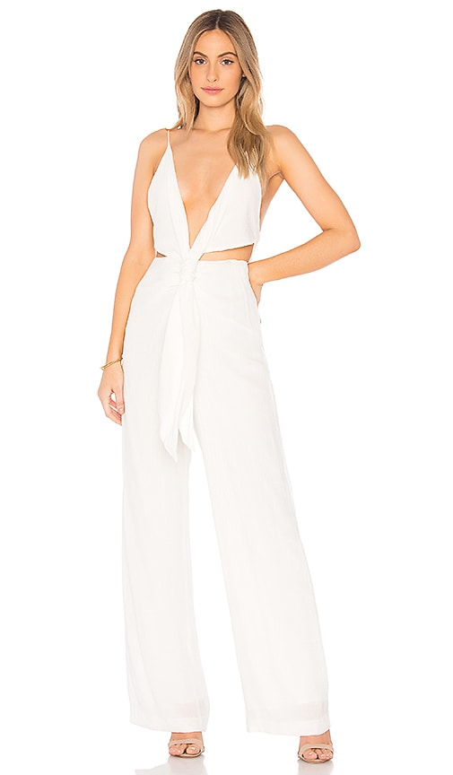 Winona Australia Lotus Jumpsuit in White