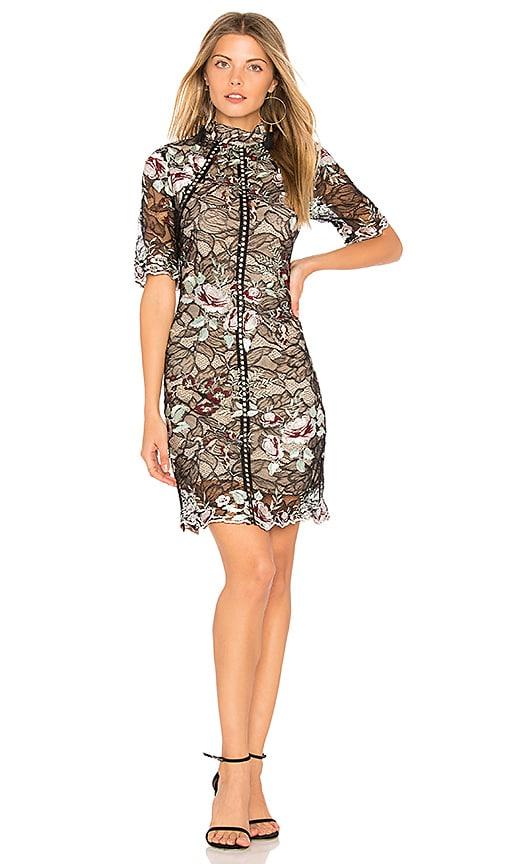 WINONA AUSTRALIA Grimaldi Short Dress in Black
