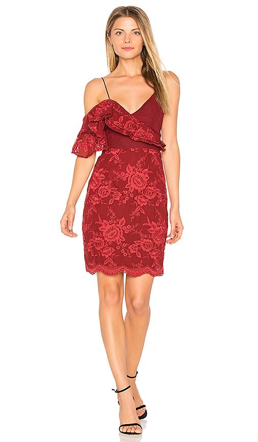 Winona Australia Amalfi Off Shoulder Dress in Red