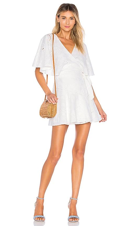 WINONA AUSTRALIA Primrose Wing Dress in White