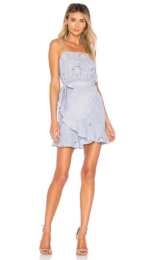 WINONA AUSTRALIA Primrose Wrap Dress in Lavender