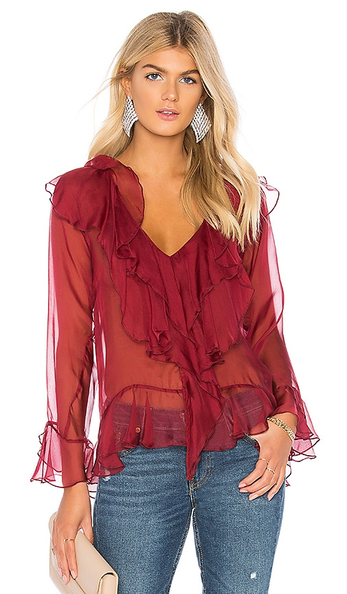 Waterfall Silk Top