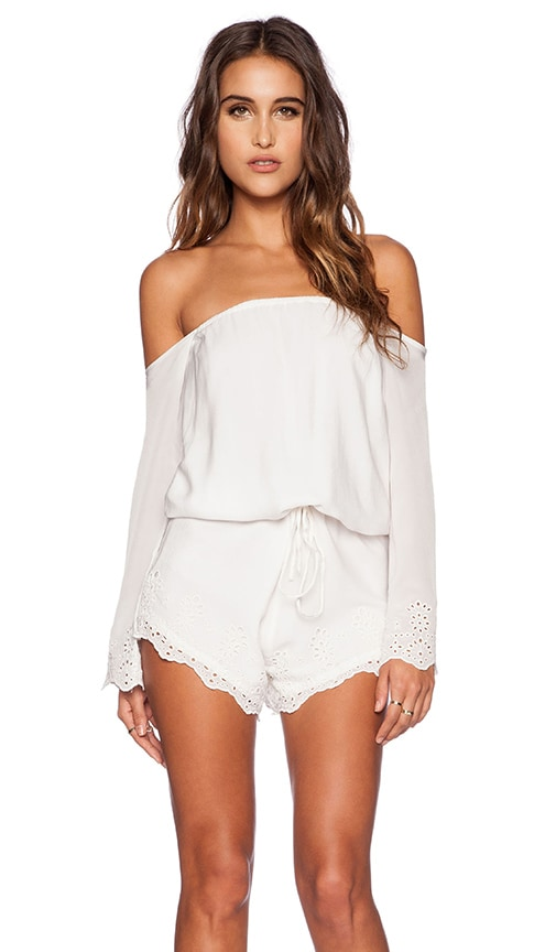 Winston White Chile Romper in White