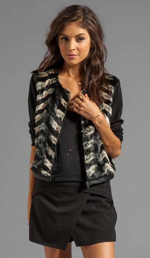 Trepid Faux Fur Jacket