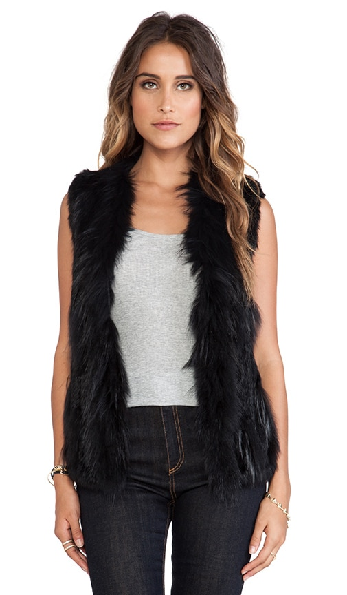 Atlanta Rabbit Fur Vest