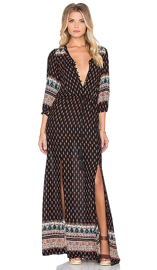 Wilde Heart Be Mine Maxi Dress in Print