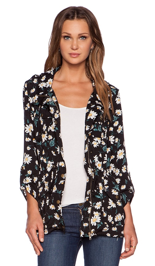 Wilde Heart Miss Daisy Anorak in Floral