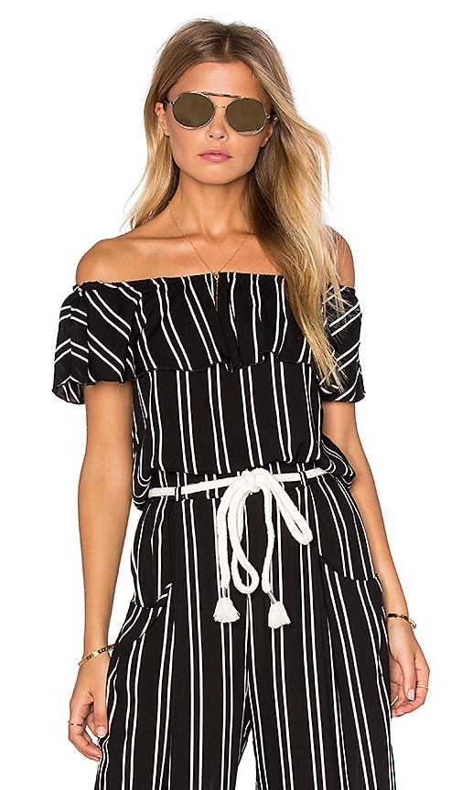 Lost in Lunar Muse Top in Black