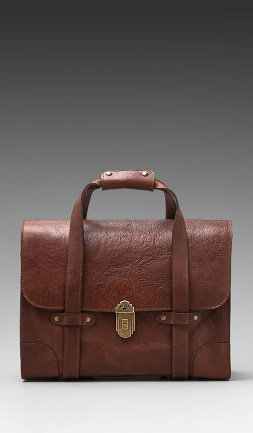 Everett Satchel Leather Bag