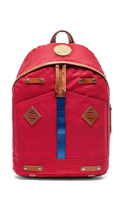WILL Leather Goods Give Will Backpack in Red  a304b50b033f