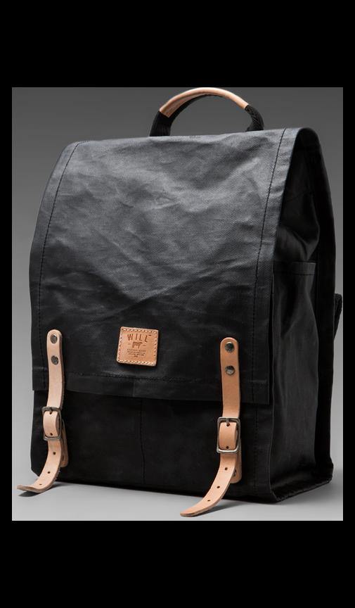 Wax Coated Canvas Backpack