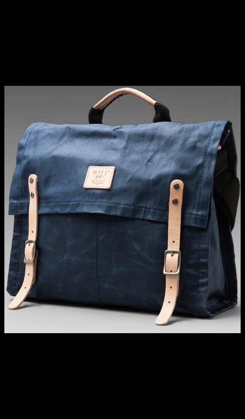 Wax Coated Canvas Messenger