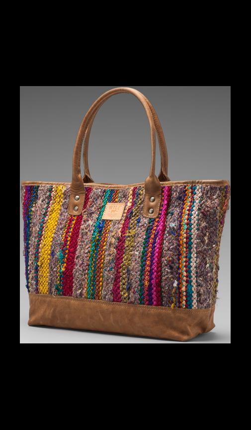 Indian Silk Rag Rug