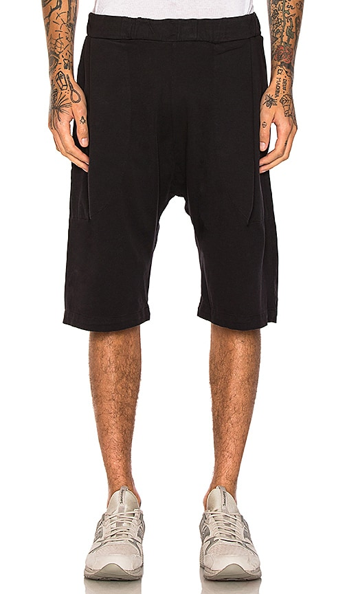Willy Chavarria Buffalo Shorts in Black