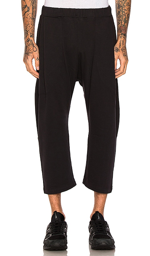 Willy Chavarria Buffalo Pants in Pirate Black in Black