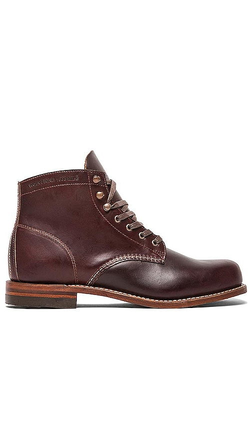 Wolverine 1000 Mile Original Boot in Brown