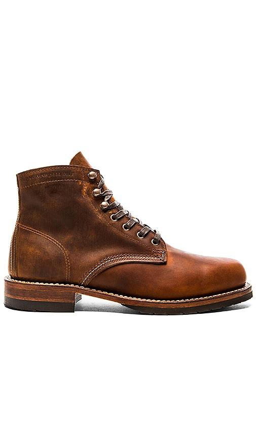 6892b725cb0 Wolverine 1000 Mile Evans in Brown Leather | REVOLVE