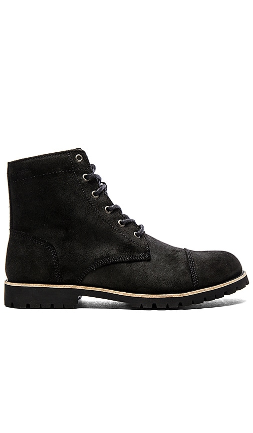 Wolverine Since 1883 Wilbur Boot in Black WP Lea