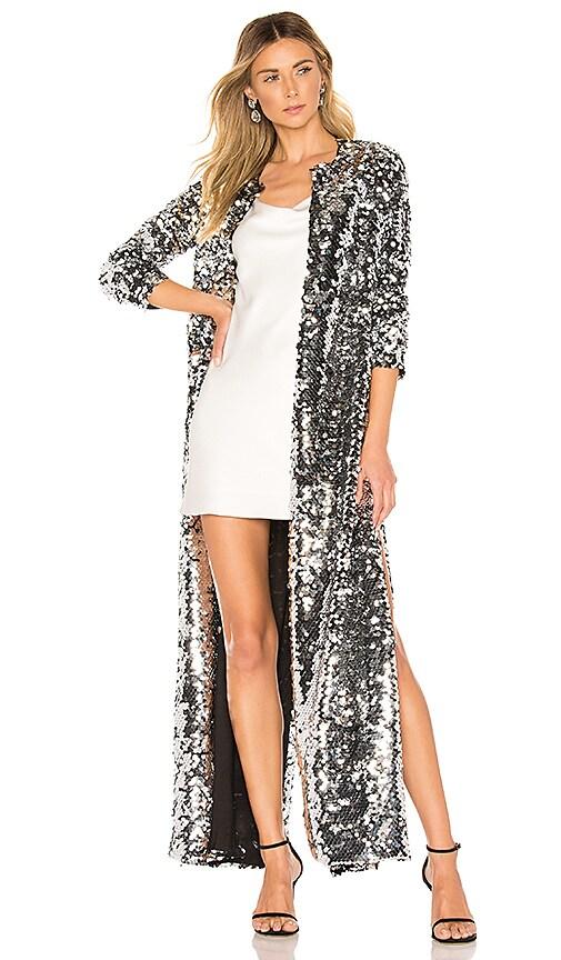 Morgan Maxi Sequin Coat