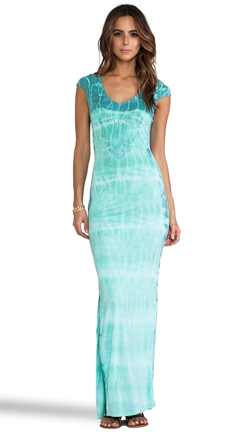 Aphrodite Tie Dye Maxi Dress