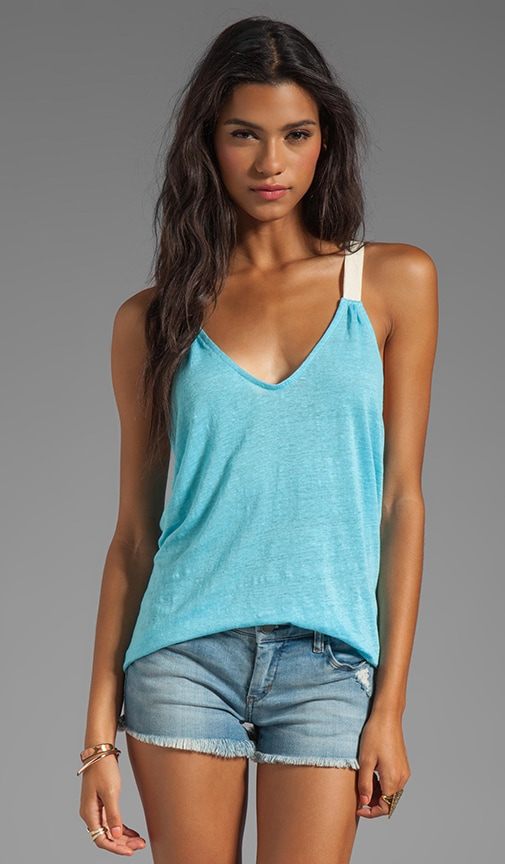Adeline Draped Back Swing Tank