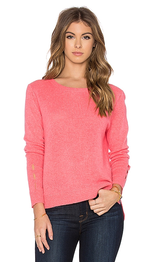Cut Out Crewneck Sweater