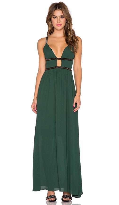 WYLDR Goddess Maxi Dress in Green - REVOLVE