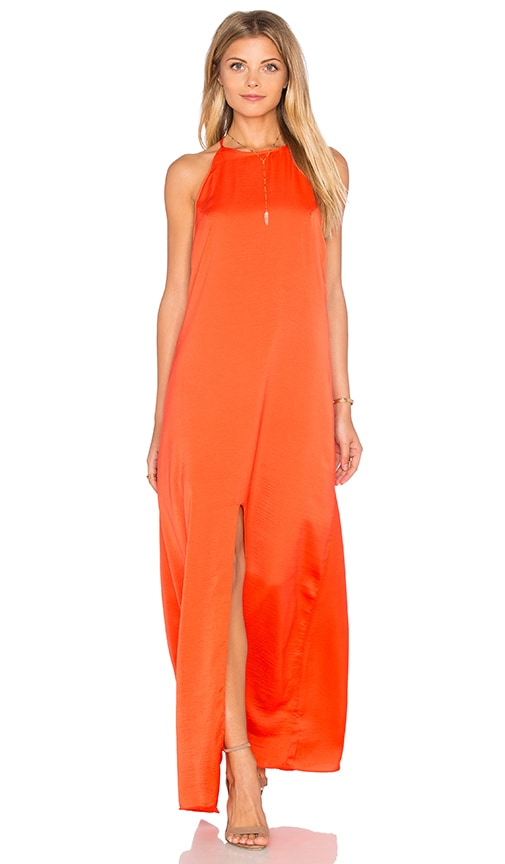 WYLDR Elegance Maxi Dress in Orange