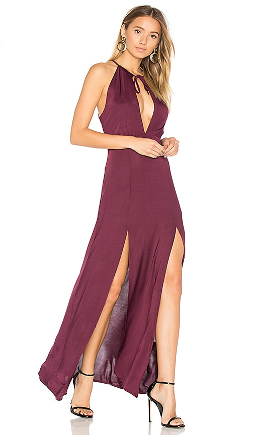 WYLDR Out Of My League Maxi Dress in Red