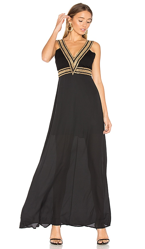 WYLDR Do Your Thing Dress in Black