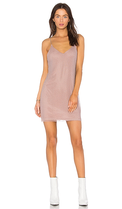 WYLDR Spirit Lights Mini Dress in Lavender